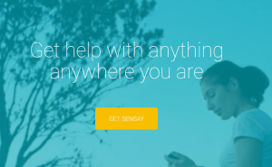 Your Friends Are Busy and You Really Need Advice? Try Sensay