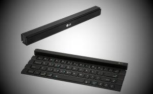 Meet the LG Rolly Keyboard