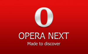 Opera, Chromified and Shiny