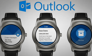 Outlook for Android now has Android Wear support