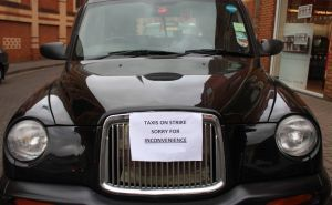 Taxi Drivers Strike Against Uber