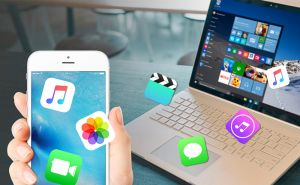 A simple, fast way to transfer files between iPhone and PC