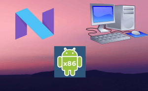 The first build of Nougat for PC is already available