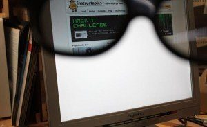 How to: Make a Privacy Monitor from an Old LCD