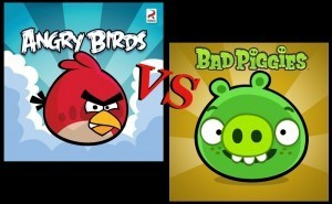 Angry Birds Against Bad Piggies